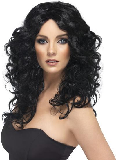 Glamour-Wig-Black